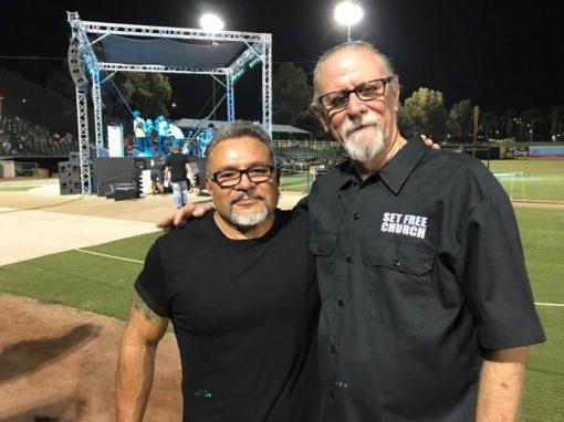 Pastors Ron Dorres and Willie Digaty